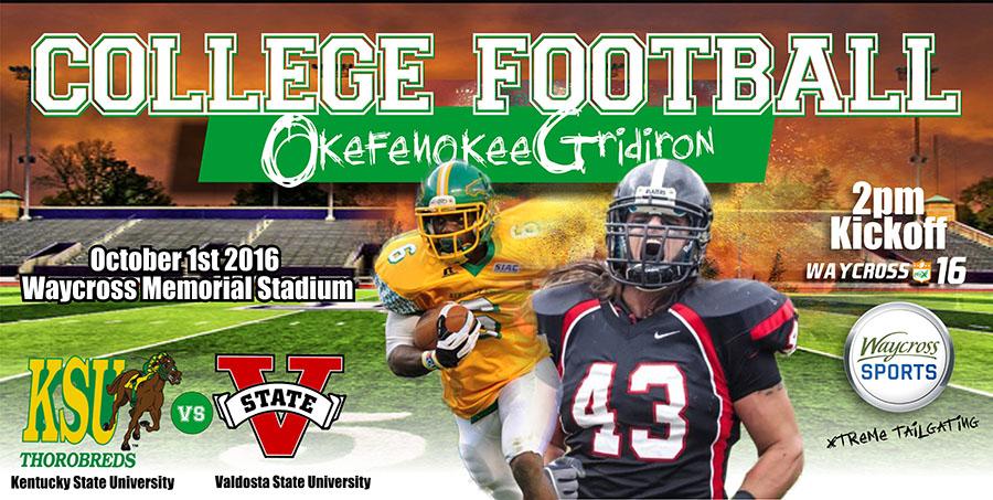 Okefenokee Gridiron @ Waycross Memorial Stadium | Waycross | Georgia | United States