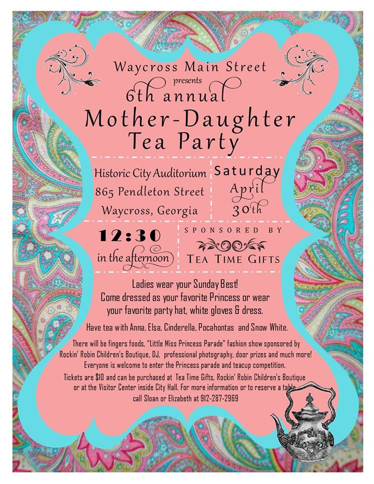 Mother Daughter Tea Party Yourcountylocal Com