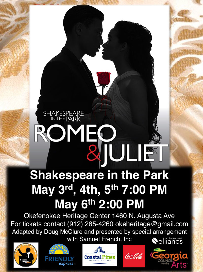 Shakespeare in the Park @ Okefenokee Heritage Center | Waycross | Georgia | United States