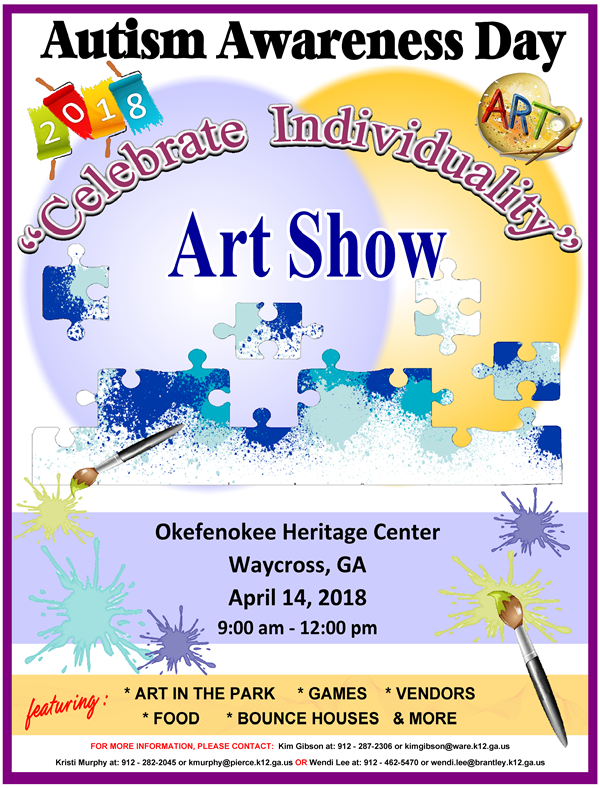 Autism Awareness Day @ Okefenokee Heritage Center | Waycross | Georgia | United States
