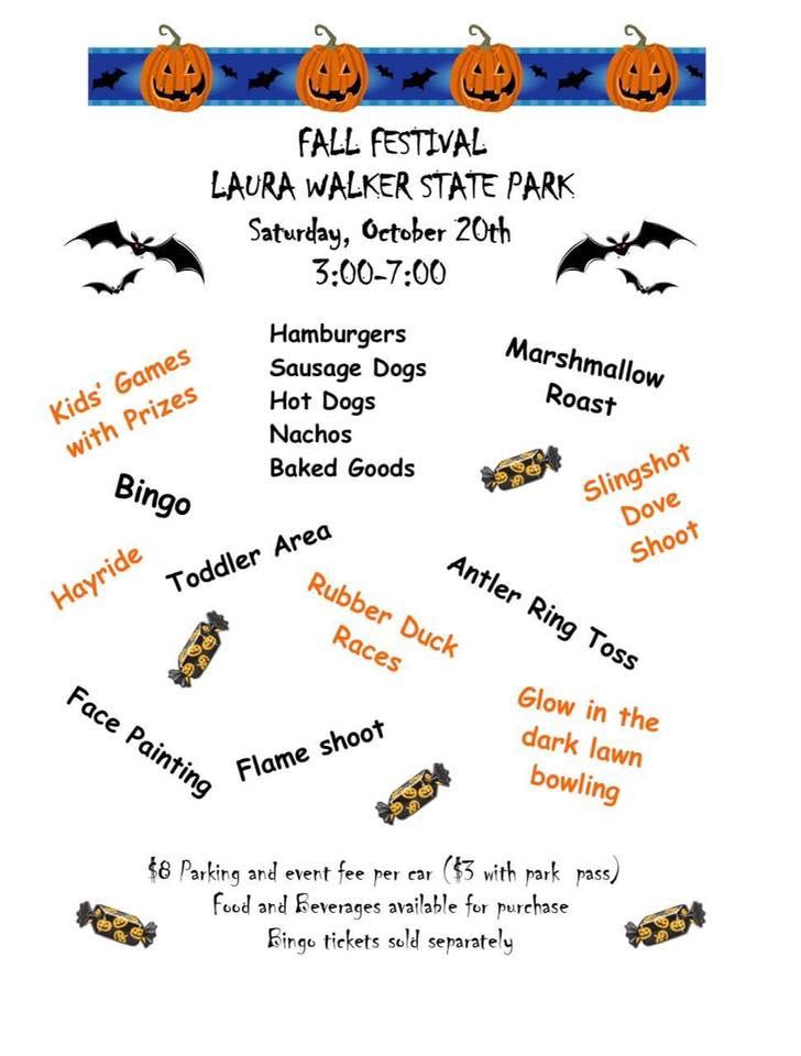 Laura Walker Fall Festival @ Laura Walker State Park | Waycross | Georgia | United States