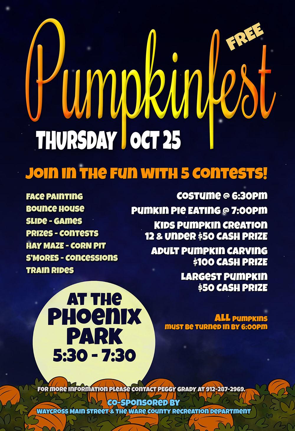 Pumpkinfest @ Phoenix Park | Waycross | Georgia | United States
