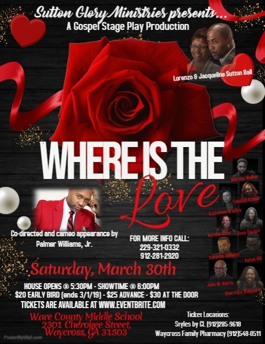 Where the Love Is @ Ware County Middle School | Waycross | Georgia | United States