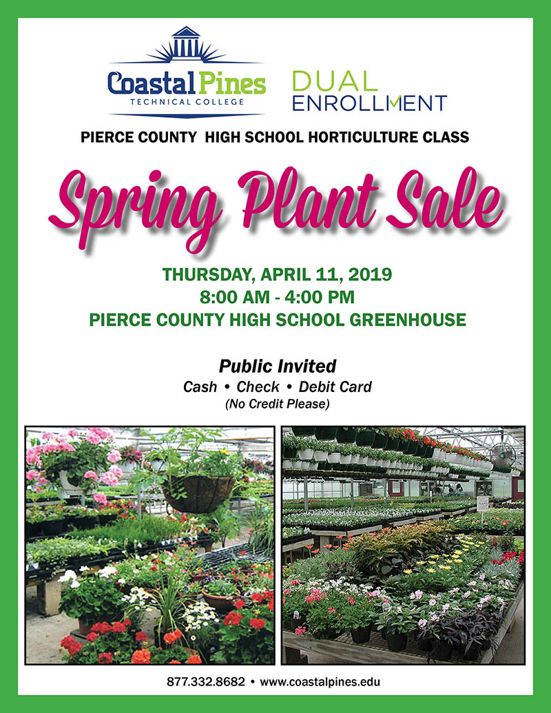 Spring Plant Sale @ Pierce County High School | Blackshear | Georgia | United States