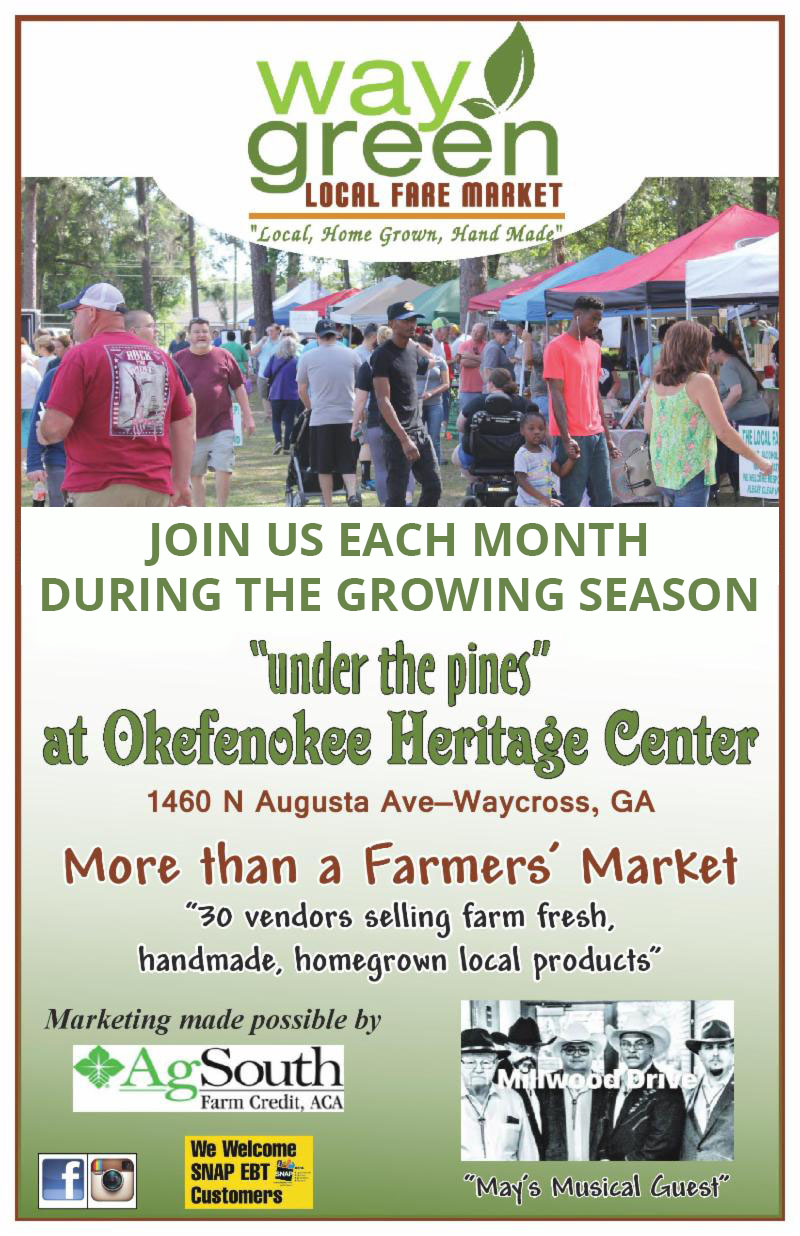 WayGreen Local Fare Market @ Okefenokee Heritage Center | Waycross | Georgia | United States